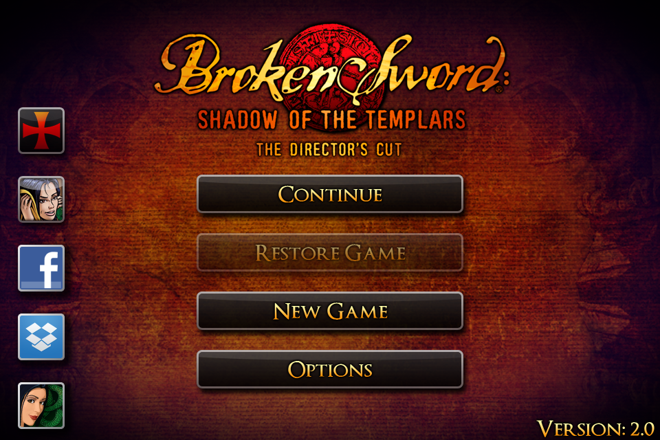 Screenshot Broken Sword: Director's Cut